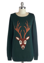From Deer to Eternity Sweater