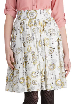 The Clock Strikes Fun Skirt