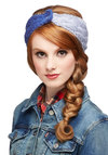 Ski's the Limit Ear Warmer - Blue, Ombre, Knitted, Fall, Winter, Good, Knit