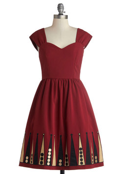 Blockade Party Dress