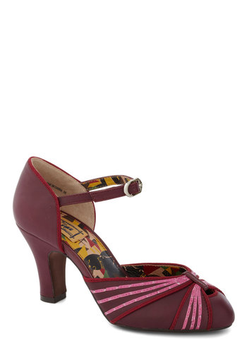 Butterfly Waltz Heel from ModCloth