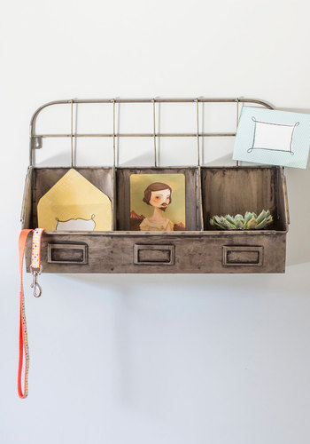 All Sorted Wall Organizer - Silver, Rustic, Better, Solid