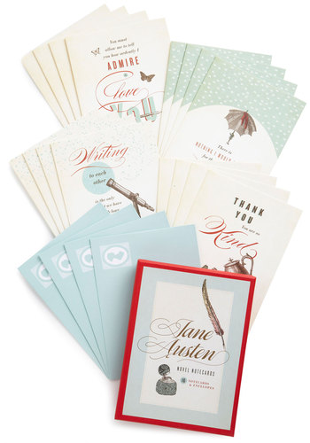 Write Me Notecard Set by Chronicle Books - Multi, Novelty Print