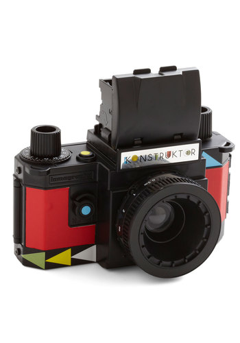 Lomography Konstruktor 35mm SLR DIY Camera Kit by Lomography - Black, Multi, Handmade & DIY