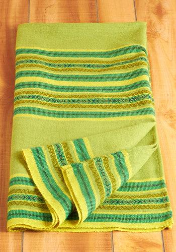 Vintage Tranquil Treehouse Blanket