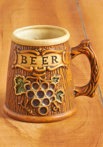 Vintage Stay a Little Lager Mug