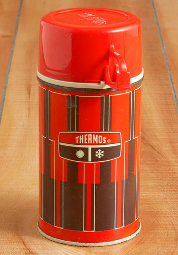 Vintage Bevvie at the Ready Thermos