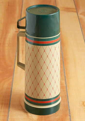 Vintage Anchor Your Evening Thermos