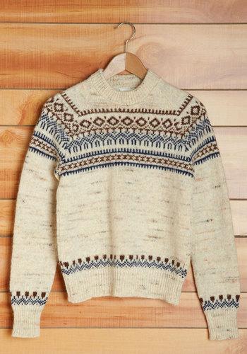 Vintage Vanilla Chai Sweater