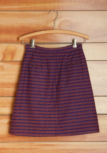 Vintage Grape Harvest Skirt
