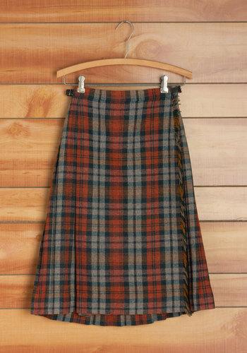 Vintage Rake It 'Til You Make It Skirt