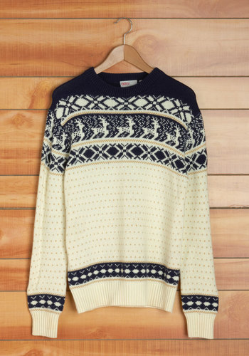 Vintage Be a Deer Men's Sweater