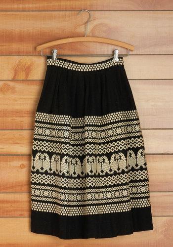 Vintage Alpaca and Ready Skirt