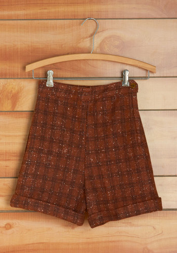 Vintage Rust Belt Belle Shorts