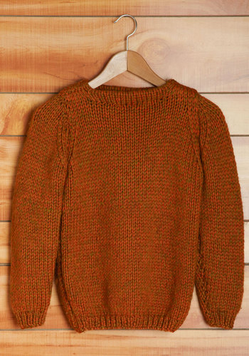 Vintage Punkin' Patch Sweater