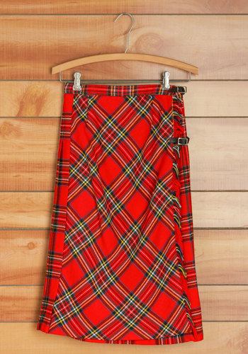 Vintage Quad Party Skirt