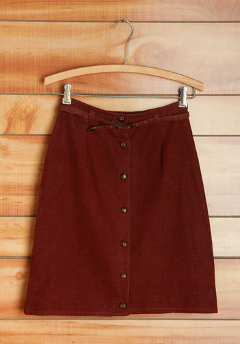 Vintage Top to Buttons Skirt