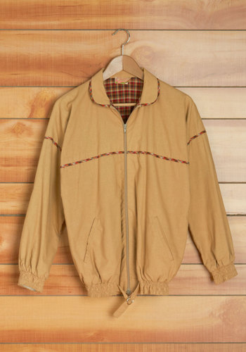Vintage Changing Leaves Men's Coat