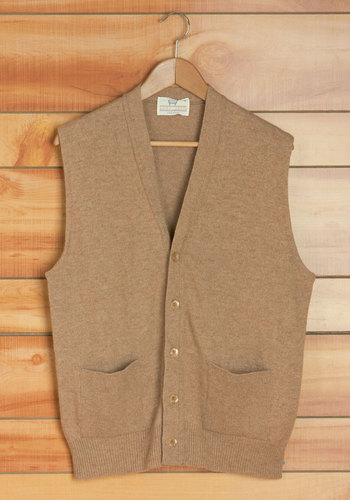 Vintage Brisk Bike Ride Men's Vest