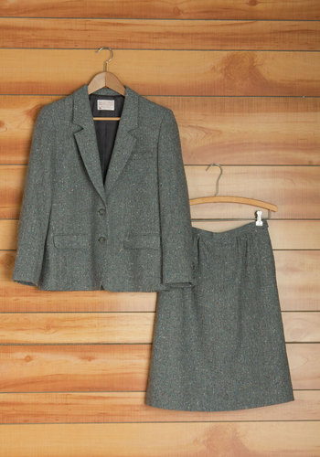 Vintage Pendleton Coffee With Colleagues Suit Set