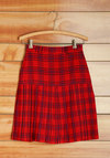 Vintage Tartan and Tangy Skirt