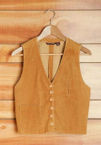Vintage Woodsy Wandering Vest