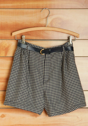 Vintage Leaf Pile Jumping Shorts