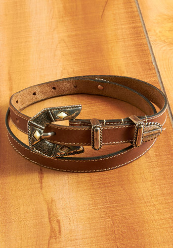 Vintage Cinch You Mentioned It Belt