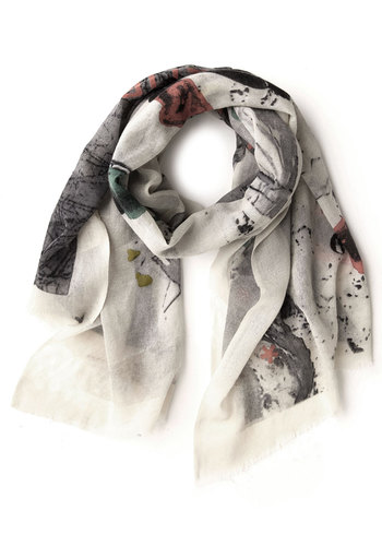 Escape to Italia Scarf by Nice Things - Multi, Novelty Print, International Designer, Woven, Multi, Travel