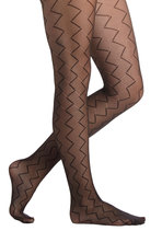 Geometric Marvel Tights