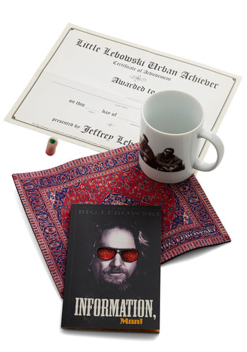 The Big Lebowski Kit - Multi, Quirky, Good, 90s