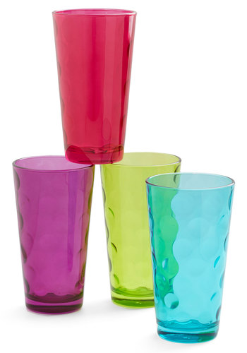 Excuse for Juice Glass Set - Multi, Dorm Decor, Good