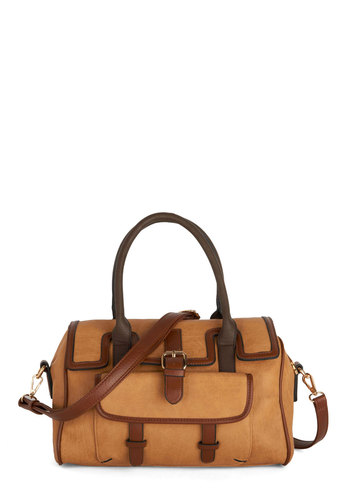 School of Thoughtful Bag by Melie Bianco - Faux Leather, Tan, Brown, Solid, Work, Better, Scholastic/Collegiate