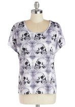 Read Skull About It Top from ModCloth