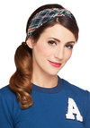 Go Fore It Headband - Green, Red, Blue, White, Plaid, Scholastic/Collegiate, Better, Variation
