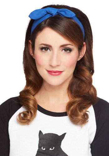 Hairdo I Ever Headband - Blue, Solid, Bows, Better