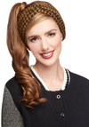 Penchant for Patterns Headband - Houndstooth, Casual, Better, Variation, Knit, Yellow, Black