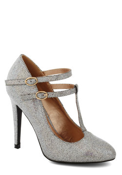Glitter Miss Sunshine Heel in Iridescent