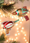 Sci-lent Night Ornament - Multi, Vintage Inspired, Quirky, Sci-fi, Good, Holiday