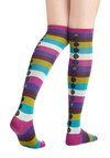 The Fun for Me Socks - Multi, Stripes, Casual, Good, Knit, Top Rated