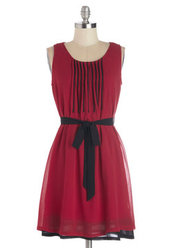 Do Re Meeting Dress in Red