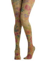 Graceful Garden Tights
