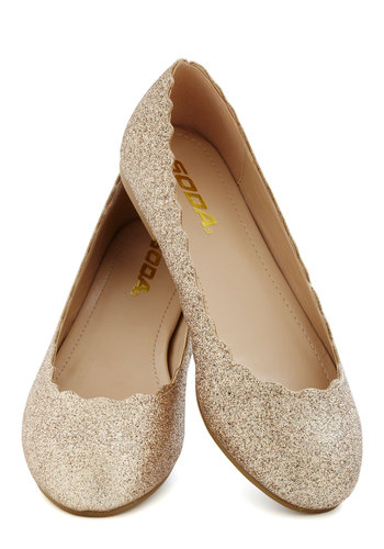 Unrivaled Radiance Flat - Flat, Gold, Glitter, Party, Holiday Party, Good, Solid, Gifts Sale