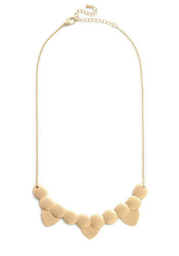 Abstract Artistry Necklace - Solid, Good, Gold