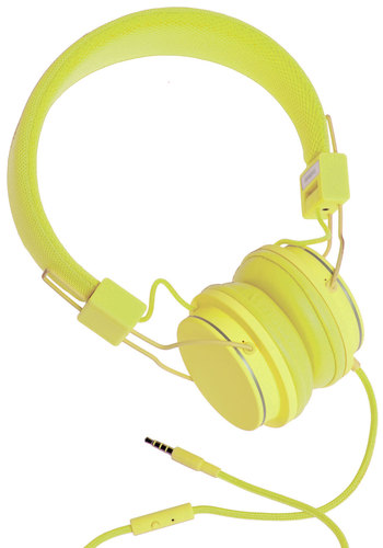Thoroughly Modern Musician Headphones in Lime by Urbanears - Urban, Minimal, Better, Green, Yellow, Solid, Music, Variation, 90s