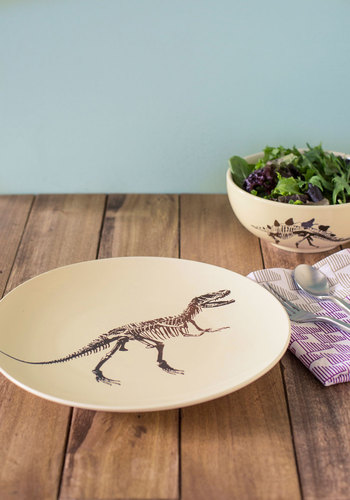 The Rex is Gravy Plate - Multi, Quirky, Good, Novelty Print