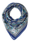 I Lake It, I Love It Scarf - Sheer, Woven, Blue, Multi, Paisley, Boho, Good, Variation
