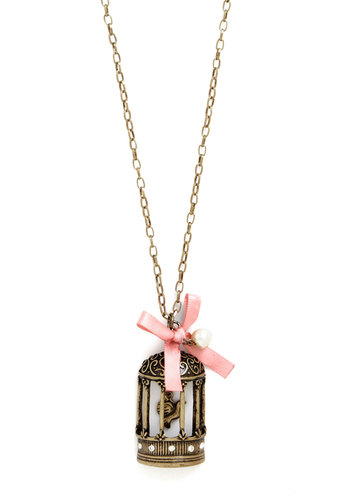 Garden Gazebo Pendant - Gold, Pink, Bows, Pearls, Casual, Best Seller, Print with Animals, Novelty Print, Gold, Top Rated