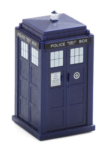 Quality Time Travel Wind-up in TARDIS - Blue, Sci-fi, Good, Nifty Nerd, Variation