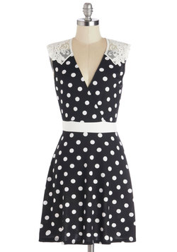 Everlasting Loveliness Dress in Dots